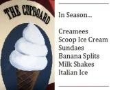 Ice Cream Bar in Season
